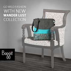 With the launch of Baggit's New Wander Lust Collection, be prepared to enthrall your senses with Wild Fashion. Made from cruelty-free innovative materials, the range includes a mix of animal camouflage and vibrant patterns from nature sashaying into a fluid outlay, sure to enhance your style. Now Available at our Exclusive stores and at www.baggit.com