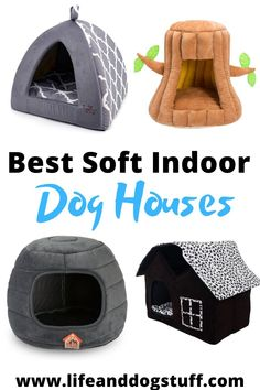 A dog house is a place where your dog can have their own space and alone time. Getting a soft indoor pet house will assure your dog is still indoors while having their own place to go. Check out the 10 Best Soft Indoor Dog Houses For Small Dogs. Small Puppies, Cute Dogs And Puppies, Small Dogs, Pet Dogs, Chihuahua Dogs, Small Dog House, Dog Kennel Cover, Niches, Indoor Pets