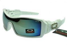 Cheap Oakley Oil Rig White Frame Lightskyblue Lens Sunglasses