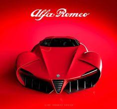 Проект Александра Имнадзе Alfa Romeo 6c / Disco Volante - Cardesign.ru - Главный ресурс о транспортном дизайне. Дизайн авто. Портфолио. Фотогалерея. Проекты. Дизайнерский форум.
