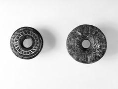 medieval spindle whorl. Hedmark, Norway (Kulturhistorisk museum)