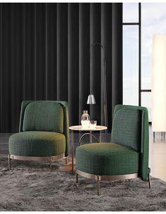 Minotti Tape fauteuil | Van der Donk interieur