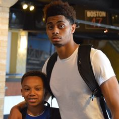 Chillin' w/ Big Smooth @jeremylamb1  #stayhumble #gabe3x #fab48 #youngestdoinit  #okc #okcthunder #MetroFam #metroflyers