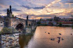 """Prague sunset ver. 2 - """"Golden Prague"""""""