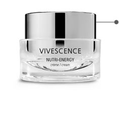 Vivescence Optimal Vitamin Cream    The NUTRI-ENERGY cream helps stimulate the skin's vital functions. Revitalized and nourished from the inside, your skin feels more comfortable, suppler and firmer to the touch, while your complexion is more uniform and brighter. This rich, comforting and non-oily cream is perfect for normal to dry skin that looks dull, tired or lacking in energy.