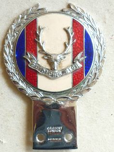 VINTAGE MILITARY CAR BADGE HIGHLANDERS SEAFORTH GORDONS & CAMERONS J.R. GAUNT in Collectables, Transportation,…