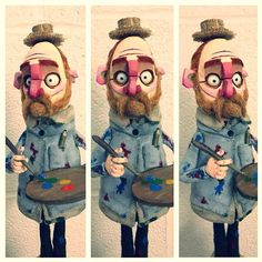 Puppet Making Portfolio on Behance