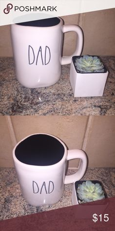 Rae Dunn: DAD Coffee Mug. Rae Dunn: Dad Coffee Mug with Black inside Rae Dunn Accessories