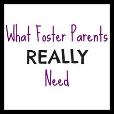 """What Foster Parents REALLY Need - Our Cone Zone """"You see, the biggest thing foster parents struggle with is self-doubt."""""""