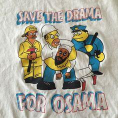 Rare Stephen Powers ESPO bootleg Simpsons T-shirt Bart Homer Kaws reas #Hanes #GraphicTee