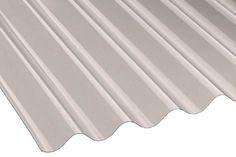 "Vistalux Asbestos Profile 3"" Lightweight Sheet | Clear | 762mm x 2135mm x 0.8mm"