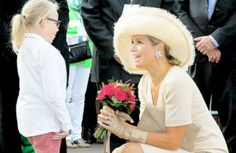 koninklijkhuis:  Queen Maxima attended events for National 'Cheer Up' Day in the Netherlands, August 29, 2015