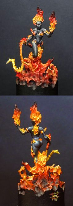 MASSIVE VOODOO: Fire Elemental by Drakerys the Game