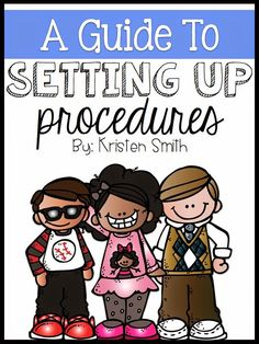 Setting Up Procedures At The Beginning Of The School Year - A day in first grade