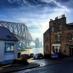 ༺✿ Forth Bridge over the Firth of Forth.