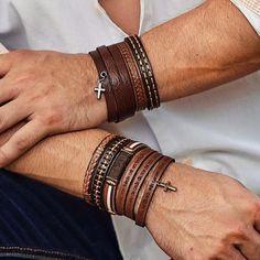 Classic Leather Bracelets