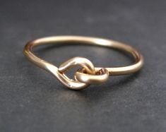Holding Hands Wire #Ring - by Mu-Yin Jewelry