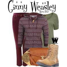 Inspired by Bonnie Wright as Ginny Weasley in the Harry Potter film franchise.
