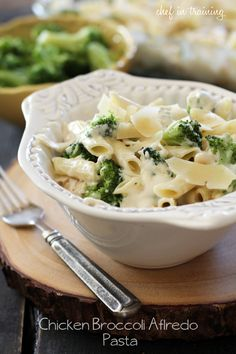 Chicken Broccoli Alfredo Pasta
