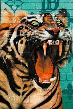 Tiger Art...