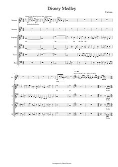 Print and download Disney Medley - Various for Keyboard. Made by Maria Heymer.