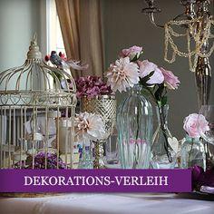 Hochzeitsdeko-Verleih