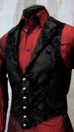 victorian aristocrat vest by shrine clothing goth steampunk mens jackets picture. - Yeni Dizi victorian aristocrat vest by shrine clothing goth steampunk mens jackets picture. Steampunk Mode, Steampunk Clothing, Gothic Clothing Mens, Steampunk Boots, Steampunk Dress, Outfits Casual, Mode Outfits, Suit Fashion, Mens Fashion