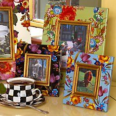 MacKenzie Childs Flower Market Frames