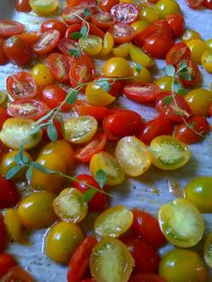 bean and cherry tomato salad at the bottom of the post. Haricot Verts ...