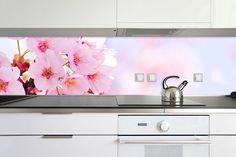 For a lighter kitchen use lighter colours. www.mural24.co.uk