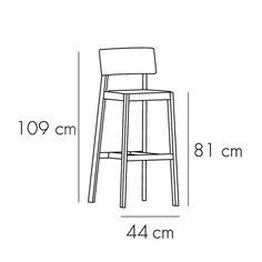 Taburete Whiskey de Punt mobles. Muebles y complementos de diseño para hogar. Taburetes