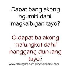 Tagalog Jokes - Best Funny Tagalog Jokes The best funny tagalog jokes, pinoy jokes, juan jokes tagalog, joke time pinoy, joke quotes tagalog Love Sayings, Qoutes About Love, Sad Love Quotes, Words Quotes, Life Quotes, Crush Quotes Tagalog, Tagalog Quotes Patama, Tagalog Quotes Hugot Funny, Filipino Quotes