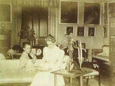 Princess Zenaide Youssupov at Arkangelskoie palace c1897