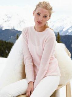warm, cashmere, thermal crew by white + warren