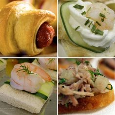 Best Toasts Recipes - French Canapes bread recipe - French Appetizers
