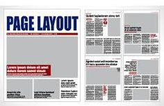 Image result for tabloid newspaper template