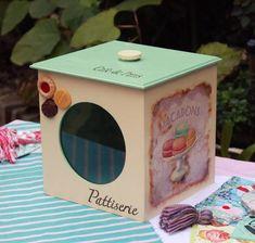 Cajas De Galletitas O Golosinas En Fibrofacil Decoradas - $ 270,00 en Mercado Libre