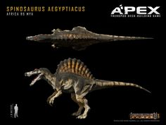 Spinosaurus Aegyptiacus by Herschel-Hoffmeyer.deviantart.com on @DeviantArt