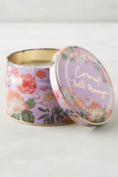 Anthropologie EU Spring's Eden Candle by Illume. Wild Honeysuckle, Différents Styles, Candle Packaging, Perfume Packaging, Pink Apple, Home Candles, Gifts Under 10, Branding, Vases Decor