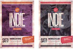 Indie Poster Vol.18 on Behance