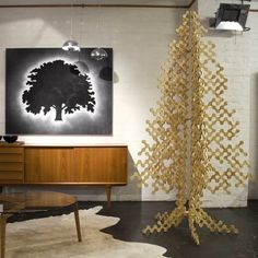 If It's Hip, It's Here: The Top Modern Wood Christmas Trees For 2009 (updated for 2011)