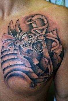 Zombie Anubis Tattoo