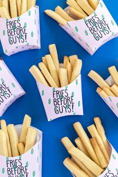 Fries Before Guys Free Printable Valentines