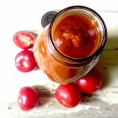Recipe Tomato Chutney (similar to Beerenberg's) by Classmyth, learn to make this recipe easily in your kitchen machine and discover other Thermomix recipes in Sauces, dips & spreads. Sauce Recipes, Paleo Recipes, Whole Food Recipes, Cooking Recipes, Cooking Sauces, Jelly Recipes, Sugar Free Tomato Sauce, Homemade Tomato Sauce, Tomatoe Sauce