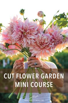 Join Erin Benzakein founder of Floret and author of the award-winning book Floret Farm's Cut Flower Garden for a series of free video tutorials to learn key skills to grow your own abundant cutting garden or small-scale flower business. Small Flower Gardens, Cut Flower Garden, Flower Farm, Small Flowers, Cut Flowers, Cut Garden, Flower Garden Plans, Flower Garden Design, Flowers For Cutting Garden
