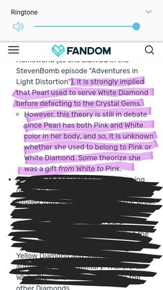 THEORY: rhodonite is a fusion between a pink pearl in a ruby(duh) but what if the pink pearl used to belong to a PD. Pink diamond let the Ruby and her Pearl run away so they can be fused forever. Realizing that pink diamond didn't have a pearl anymore white diamond gave her pearl. As in Stevens pearl.