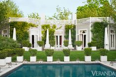 Behind its classical facade, a Hamptons retreat revels in the exuberant and the exotic.