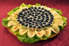 "SALAD ""SUNFLOWER"" Ingredients: - chicken breast — 300 Grams - mushrooms — 300 Grams - eggs — 7 Pieces cheese — 150 Grams - olives — Pieces (half a Iranian Food, Top 5, Food Art, Good Food, Food And Drink, Appetizers, Cooking Recipes, Favorite Recipes, Dishes"