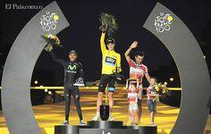 """""""Estoy emocionado, hacía mucho tiempo que Colombia no vivía esto"""": Nairo Quintana Terminó la prueba de ciclismo más importante del mundo, el resultado para Colombia: excelente, Nairo Quintana fue segundo en la general y es el mejor escalador de la prueba."""
