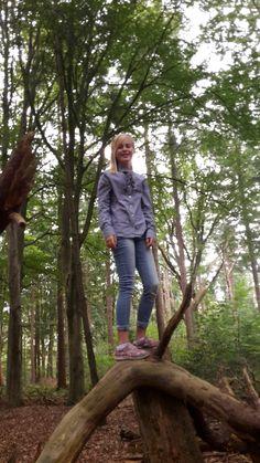 Climbing trees like a pro 😉